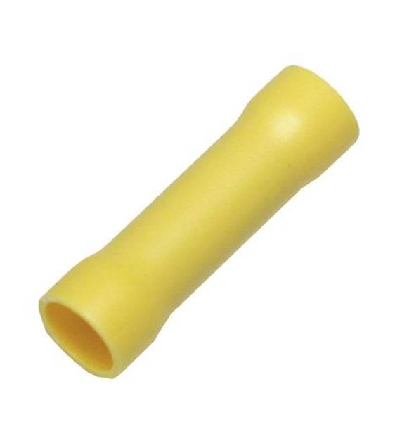 Bilde av Helisolert skjøtehylse 4-6mm2, gul, 10-pk