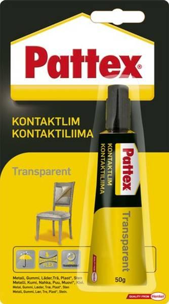 Bilde av Kontaktlim uten farge, Pattex