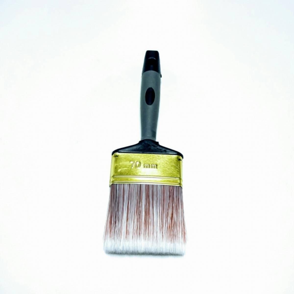 Flat pensel syntet 70mm, Sveda