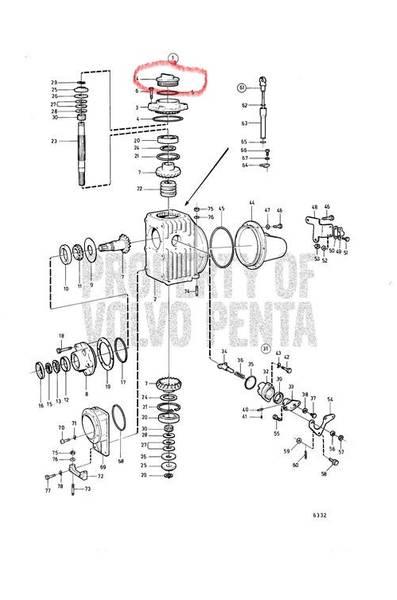 Bilde av Volvo Penta 851754 lokk