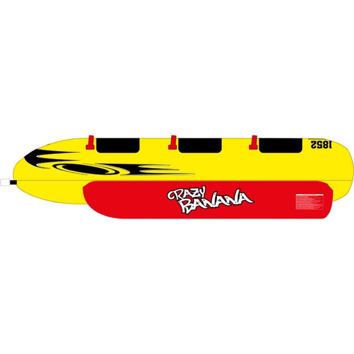 Banan tube 3-pers