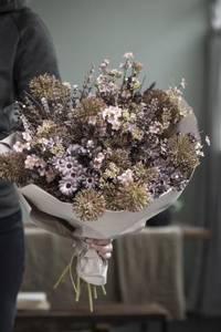 Bilde av Silkeblomst lilla nyanser