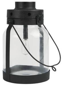 Bilde av Led lanterne m/metallbunn