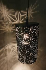 Bilde av Taklampe svart metall