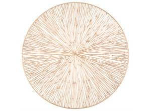 Bilde av Dekkebrikke PVC-kutt gull