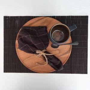 Bilde av Dekkeserviett sort