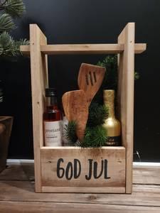 """Bilde av Vinholder """"God jul"""""""