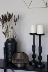 Bilde av Vase svart stor