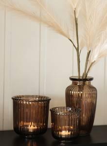 Bilde av May glasskrukke brun