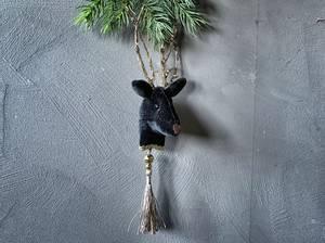 Bilde av Juletrepynt sort reinsdyr