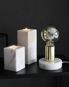 Bilde av Lampe sten marmor