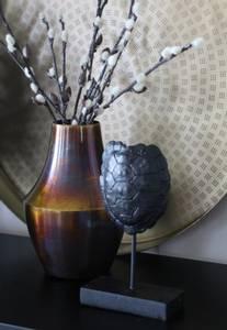 Bilde av Vase Vodia brent bronse