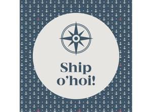 Bilde av Servietter Ship O'hoi