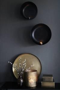 Bilde av Lysfat gull 41 cm