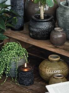 Bilde av Vase krakelert glasur