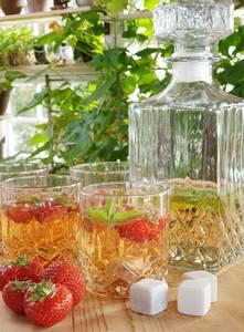 Bilde av Whiskysett 4 glass og 1