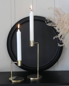 Bilde av Lysestake gull for kronelys