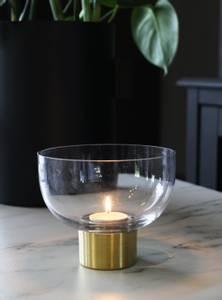 Bilde av Glassbolle m/gullbunn
