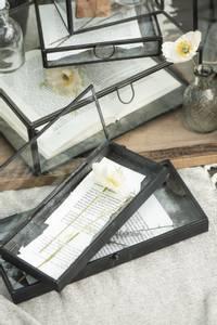 Bilde av Glass/metallboks