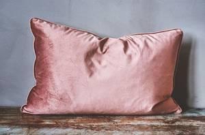 Bilde av Putetrekk velur rosa