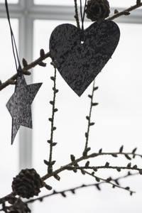 Bilde av Juletrepynt stjerne med