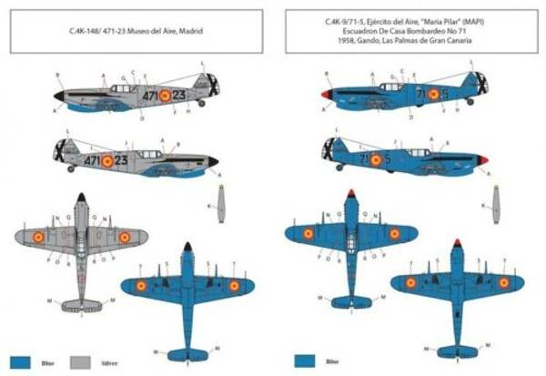 HA-1112 M1L Spanish AF Decals