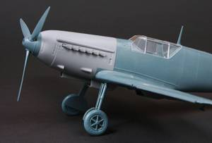 Image of Messerschmitt ME109E-1 with Hispano Suiza Engine,