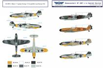 1/32 BF 109F Spanish Airforce Decals