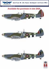 1/24 Supermarine Spitfire Mk IXe Resin Conversion Kit