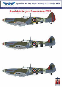 Image of 1/24 Supermarine Spitfire Mk IXe Resin Conversion