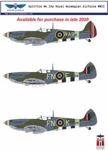 Bilde av Supermarine Spitfire Mk IXe Resin Conversion Kit