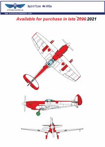 Image of 1/24 Supermarine Spitfire Mk XVIe Resin