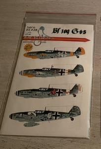Image of Bf 109G-6 Decals, Eagle Ed. Ltd.