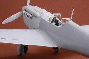 Image of Hispano HA-1112 M1L Buchon Resin Conversion Kit