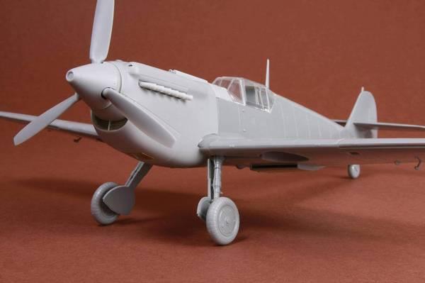 Hispano HA-1112 M1L Buchon Resin Conversion Kit