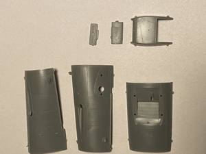 Image of Bf 109G-2 cowling, complete