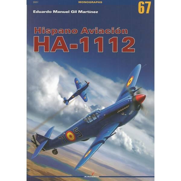Kagero Hispano Aviación HA-1112 Book