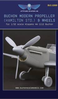 1/32 Buchon Modern Propeller (Hamilton std.) and Wheels
