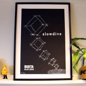 Bilde av Slowdive - Silketrykk Loco