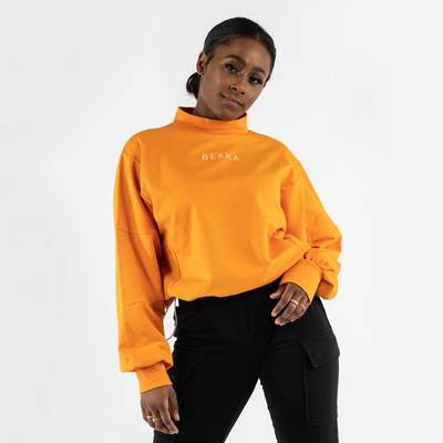 HIGHSCHOOL SWEATER ORANGE