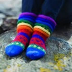 Bilde av Regnbuesokker kit