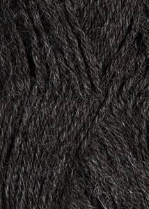 Bilde av Alpakka 1053 mørk gråmelert