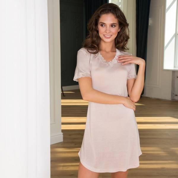 Bilde av Lady Avenue Nightgown W/Sleeve Skin