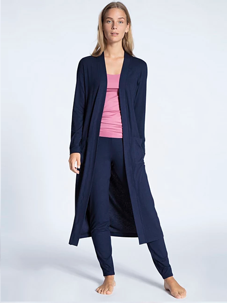 Bilde av Calida Women Kimono Dark Blue