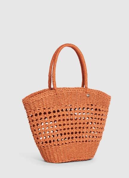 Bilde av Seafolly Woven Basket Bag Bronze