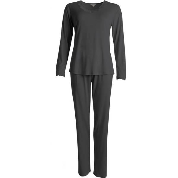 Bilde av Lady Avenue Silk Jersey Pyjamas Long Sle