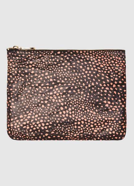 Bilde av Seafolly Safari Spot Bikini Bag Svart One Size