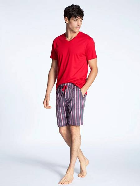Bilde av Calida Men Short Pyjama Tango Red