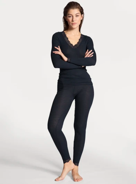 Bilde av Calida Joy Long Sleeve Dark Lapi