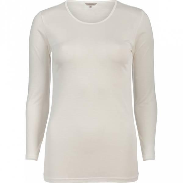 Bilde av Lady Avenue T-skjorte Silke Jersey Hvit